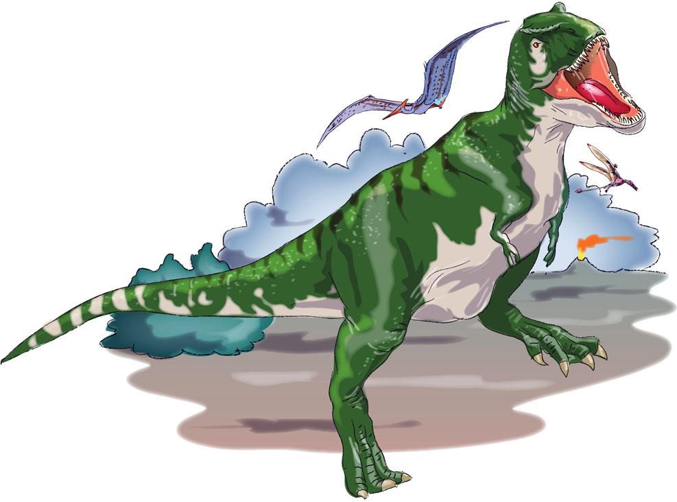 """""""Tyrannosaurus Rex"""", aus """"Dinosaurier"""", Sachbuch für Kinder"""
