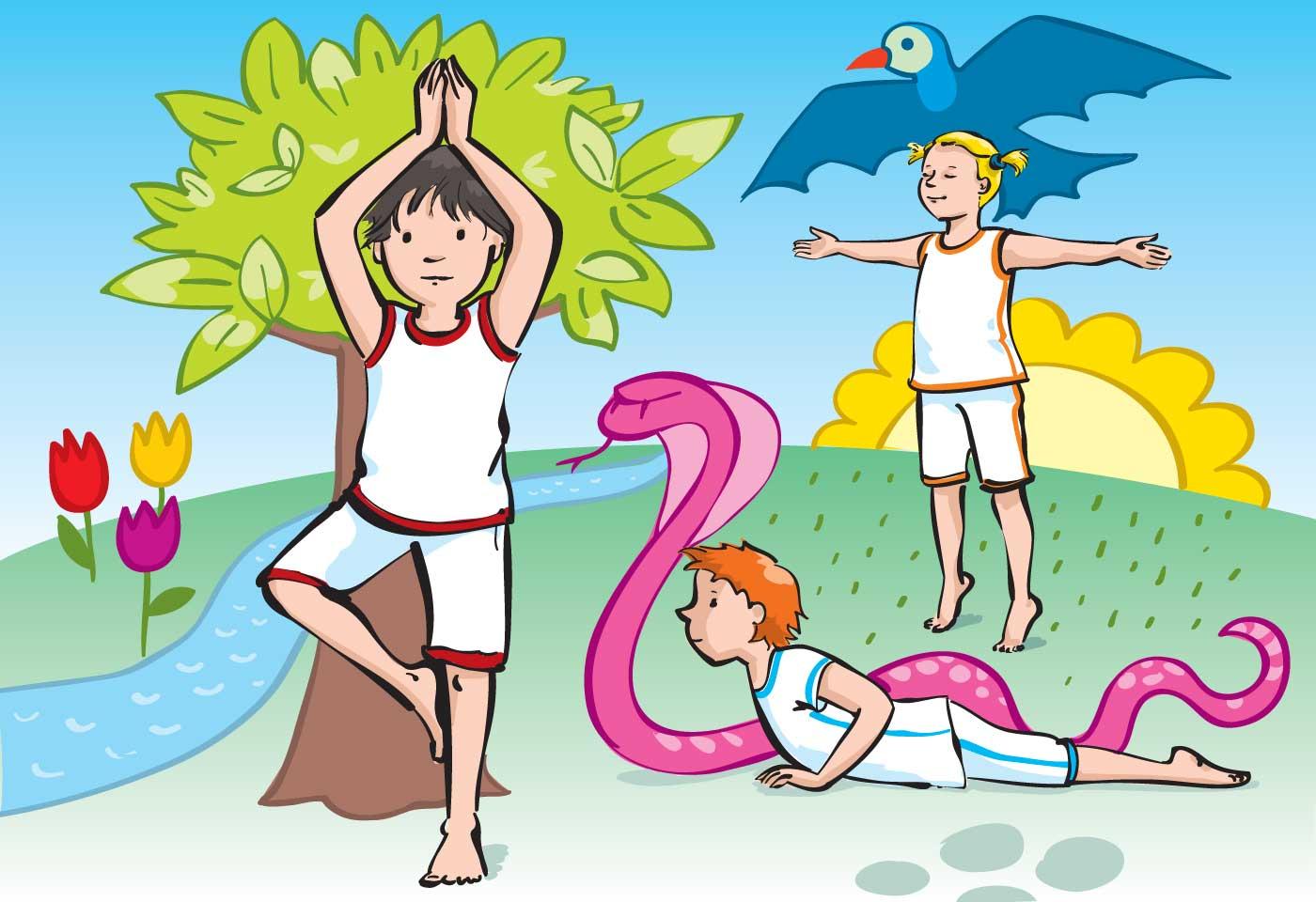 Yoga für Kinder, Verlag an der Ruhr
